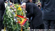 Halle | Gedenken an Anschlag auf Synagoge | Bundespräsident Steinmeier