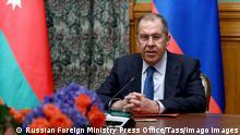 Moskau Gespräche zwischen Armenien und Aserbaidschan über Berg-Karabach | Außenminister Lawrow