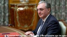 Moskau Gespräche zwischen Armenien und Aserbaidschan über Berg-Karabach | Außenminister ohrab Mnatsakanyan