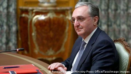 Moskau Gespräche zwischen Armenien und Aserbaidschan über Berg-Karabach   Außenminister ohrab Mnatsakanyan
