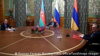 Переговоры министров иностранных дел Армении и Азербайджана в Москве, 9 октября 2020