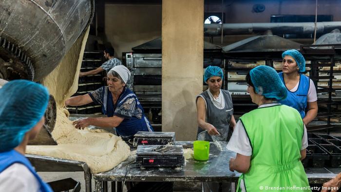 Berg-Karabach Stepanakert   Brot-Fabrik