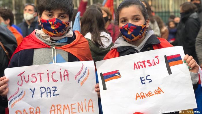 Armenios en Sudamérica: dónde están y cómo viven el conflicto en el Cáucaso | Las noticias y análisis más importantes en América Latina | DW | 11.10.2020