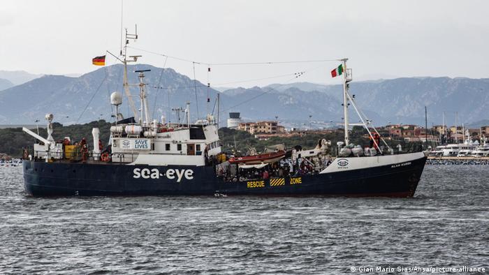 Sardinien Olbia | Alan Kurdi NGO Sea Eye Rettungsschiff