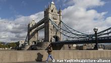 London Tower Bridge Coronakrise