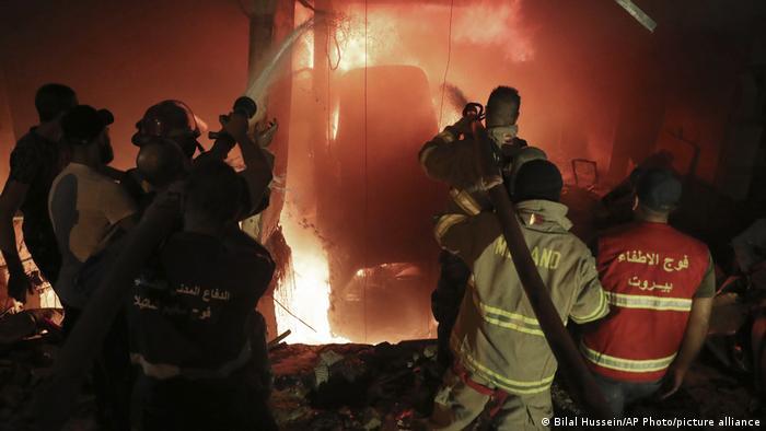 Beirut | Explosion in Lagerhaus