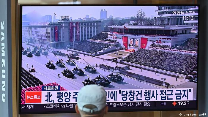 Nordkorea Militäreparade