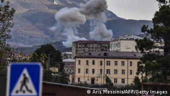С конца сентября в Нагорном Карабахе не утихает военный конфликт между Арменией и Азербайджаном