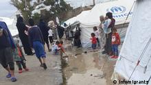 Infomigrants | Griechenland Moria Flüchtlingslager