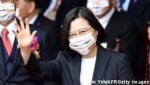 Taiwan | Nationalfeiertag in Taipei | Präsidentin Tsai Ing-wen