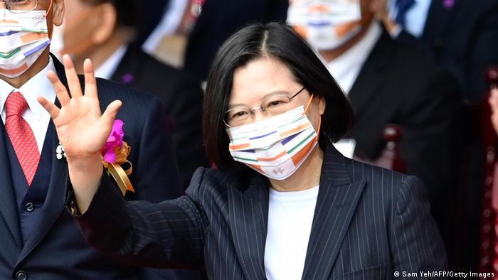Президентката на Тайван Цай Инуън