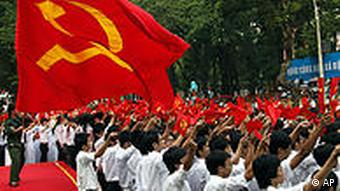 Protests have been going on since April 30 - a national holiday to mark the end of the Vietnam War in 1975
