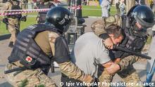 Russland | Proteste in Khabarovsk | Unterstützer von Sergei Furgal