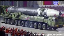 Nordkorea Pjöngjang | 75. Gründungstag der Arbeiterpartei |Militärparade