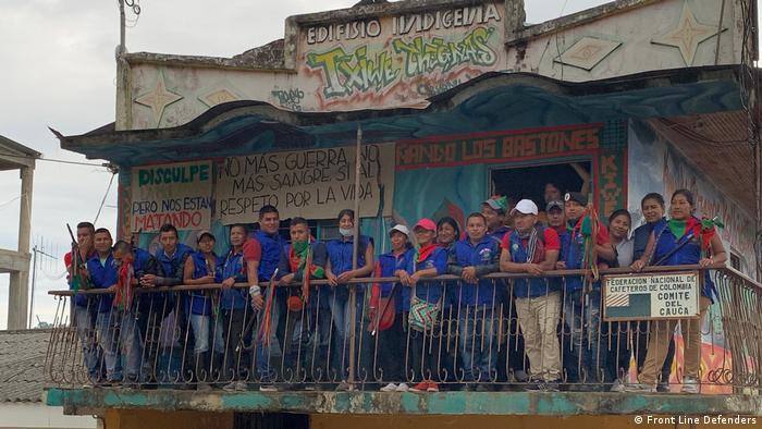 Kolumbien Indigene Garde von Cauca (Front Line Defenders)