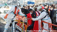 Spanien Gran Canaria | Migranten Ankunft Festland (Europa Press/dpa/picture-alliance)