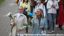 Weißrussland   Frauenproteste in Minsk