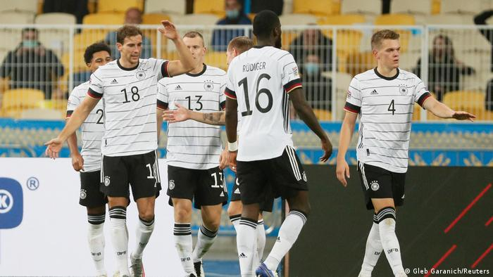 كسر المنتخب الألماني صومه عن الانتصارات في دوري الأمم الأوروبية، بتحقيق فوزه الأول في المسابقة المستحدثة
