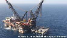 Ägypten Gas Projekt Mittelmeer | Ölplattform Israel