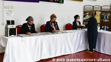 Tadschikistan Vorbereitung zur Wahl