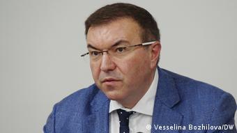 Kostadin Angelov Gesundheitsminister Bulgarien