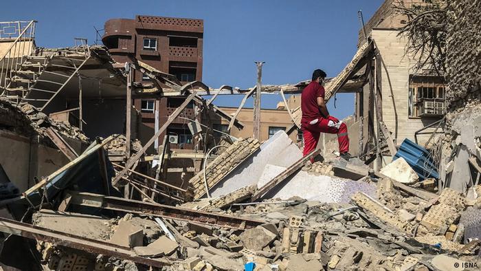انفجار گازی در منطقه عامری اهواز
