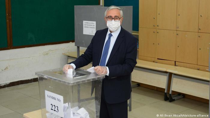 President of Northern Cyprus Mustafa Akinci