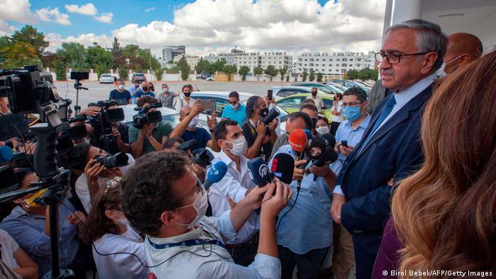 Nordzypern | Präsidentschaftswahlen | Mustafa Akinci (Birol Bebek/AFP/Getty Images)