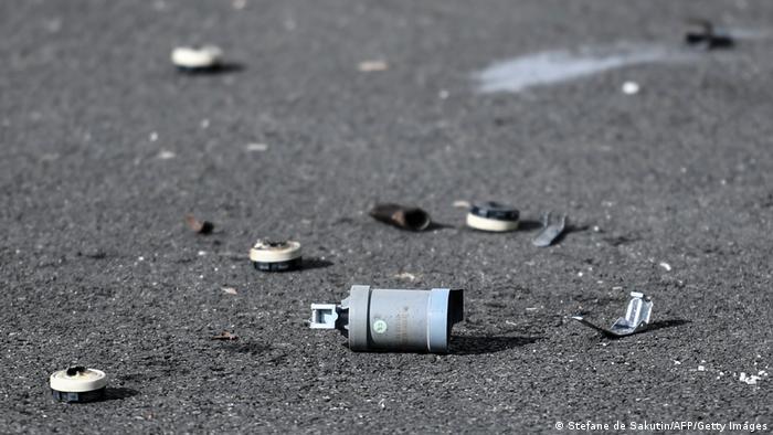 Frankreich Vorfall auf dem Polizeirevier in Champigny-sur-Marne in Paris (Stefane de Sakutin/AFP/Getty Images)