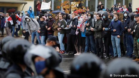 Протесты в Минске 11 октября 2020 года
