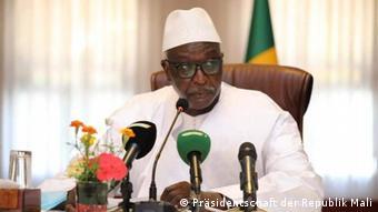Mali Präsident der Übergangsregierung Bah N'Daw