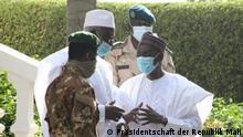 10. Oktober 2020+++ 1. Ministerrat in Bamako. Präsident der Übergangsregierung in Mali, Bah N'Daw. Copyright: Präsidentschaft der Republik Mali