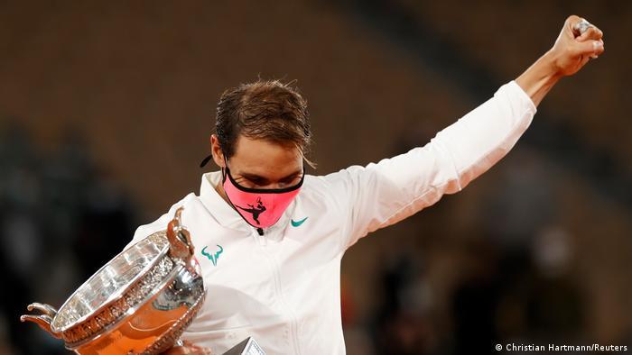 Рафаель Надаль знову переміг на Roland Garros