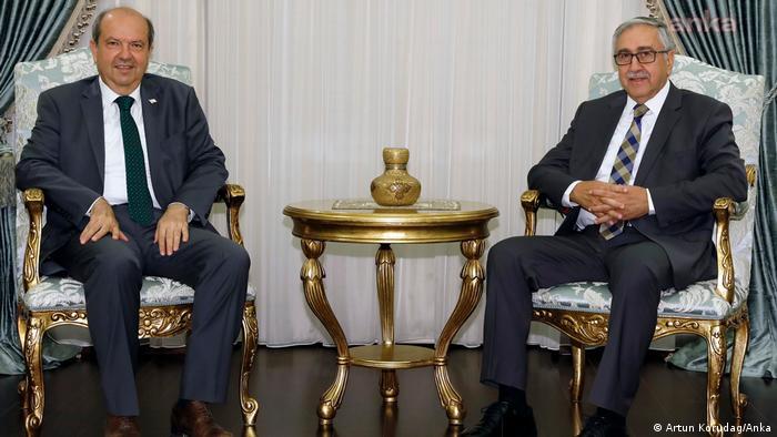 Türkische Republik Nordzypern  Wahl  Mustafa Akinci & Ersin Tatar