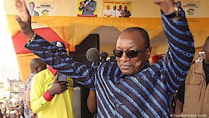 Guinea President Alpha Conde (Facebook/Alpha Condé )