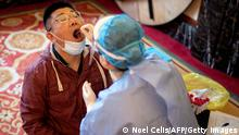 China | Covid-19 | Coronavirus -Test (Noel Celis/AFP/Getty Images)
