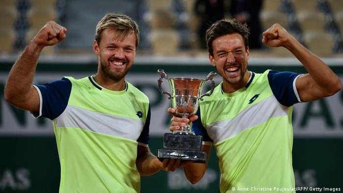 Tennis I Roland Garros   French Open I Kevin Krawietz und Andreas Mies