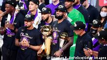 LeBron James 2020 NBA Finale