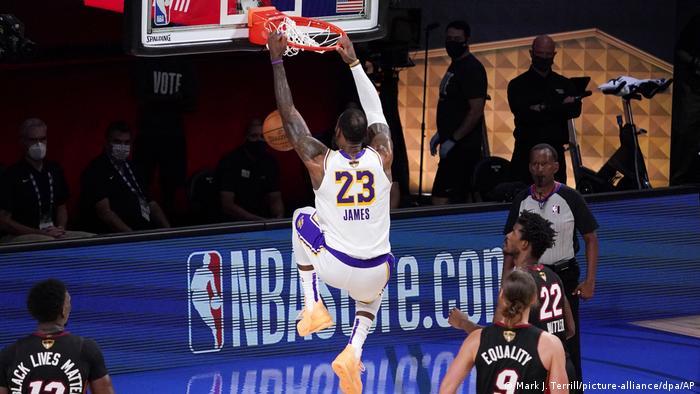 LeBron James Los Angeles Lakers Miami Heat