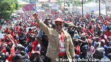 Wahlkampf Cellou Dalein Diallo, Oppositionsführer Guinea