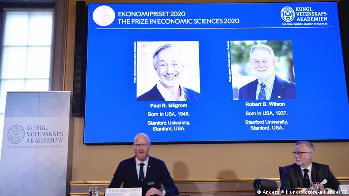 Nobelpreis Wirtschaft 2020 Paul R Milgrom und Robert B Wilson