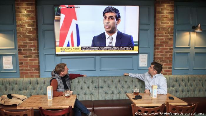 Großbritannien Schatzkanzler Rishi Sunak