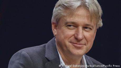 Juergen Boos, director of the Frankfurt Book Fair