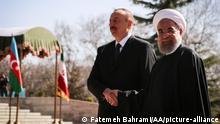 Teheran Iran | Alijew bei Ruhani 2016