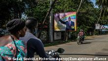 Guinea Präsidentschaftswahl 2020 l Kampagne des Präsidenten Conde