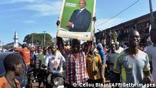 Guinea Präsidentschaftswahl 2020 l Anhänger der Opposition, Cellou Dalein Diallo