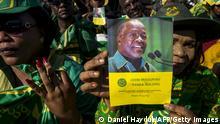 Tansania Wahlplakate von John Magufuli