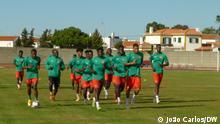Rio Maior, Portugal | Fußballmannschaft von Guinea-Bissau