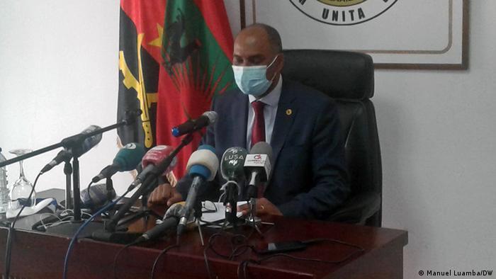 Angola Luanda Adalberto Costa Júnior Präsident der UNITA
