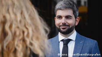 Ο συγγραφέας Γεράσιμος Μπέκας ΓΓ του Ελληνογερμανικού Ιδρύματος Νεολαίας στη Γερμανία